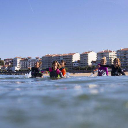 Marche aquatique Cote Basque à Saint Jen de Luz